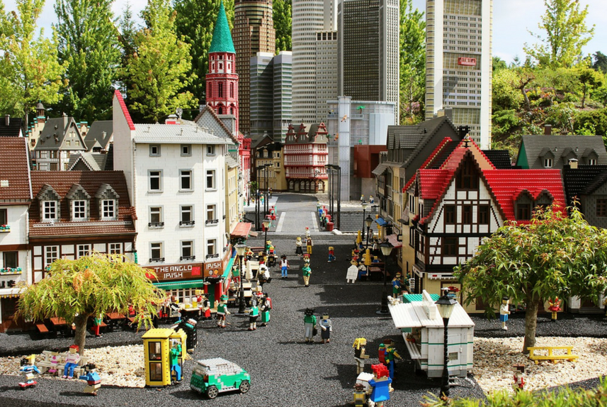 lego town world building guide